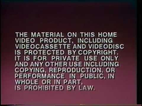UK VHS Trailer Reel:My Little Pony The Movie (Retail Vestron)