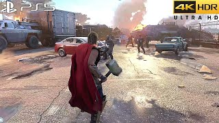 Marvels Avengers (PS5) 4K 60FPS HDR Геймплей - (версия для PS5)