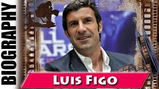 2001 FIFA World Player Of The Year Luis Figo - Biography and Life Story