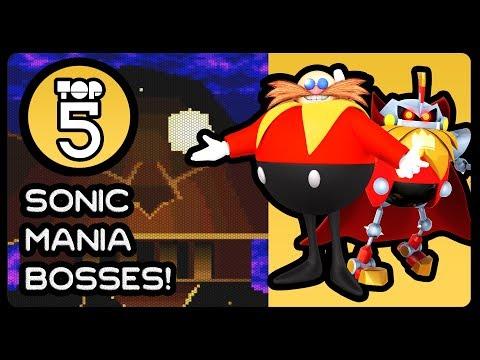 Top 5 Sonic Mania Bosses!