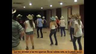 """Sahara"" Country Line Dance (español)."