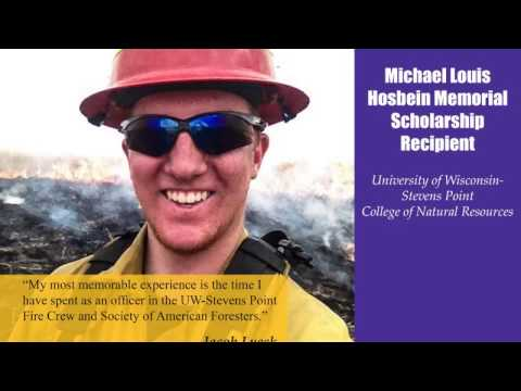 2017 UW-Stevens Point College Of Natural Resources Scholarship Recipients