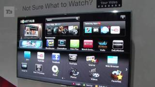 Samsung Smart TV hands-on