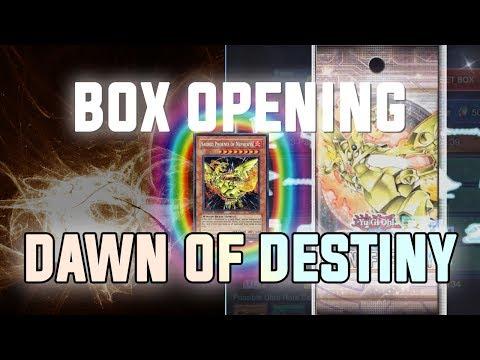 [Yu-Gi-Oh! Duel Links] Dawn of Destiny BOX Opening & Gameplay | 6500+ Gems