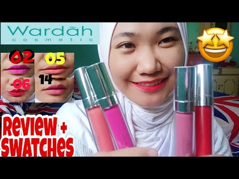 wardah-exclusive-lip-matte-cream-||-review-shade-02-05-06-09