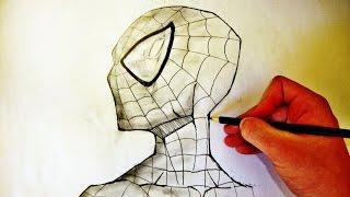 Como Desenhar o Homem Aranha - (How to Draw Spider-Man) - SLAY DESENHOS #48