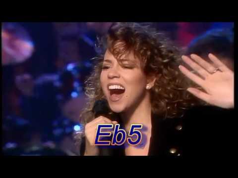 Mariah Carey s 5 Octave Vocal Range Live G#2 G#7