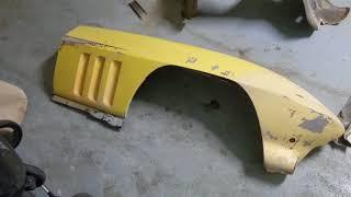 1966 Corvette - Front body panel/ fender removal