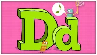"""ABC Song: The Letter D, """"Dee Doodley Do"""" by StoryBots 