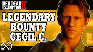 You'll never guess why this guy is wanted | LEGENDARY BOUNTY CECIL C. TUCKER | RED DEAD ONLINE