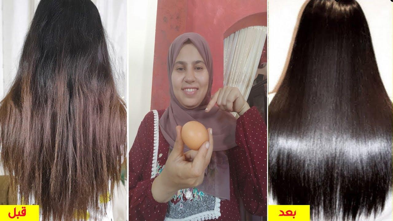 استخدمى زيت الأكل لتطويل وتنعيم الشعر فى يوم واحد ينمو شعرك بغزارة لن يتساقط ينبت الفراغات !!هتدعولى