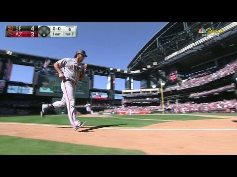 Bumgarner crushes his second homer of game