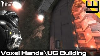 Space Engineers - How To?.. Underground Building & Voxel Hands