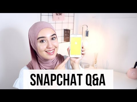 SNAPCHAT Q&A | Why minimalism, Hairline hijab trend, Are you African?