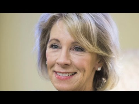 Education secretary nominee faces opposition from some Republicans