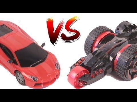 Lamborghini VS 5 Wheel Stunt Car 360 Spin