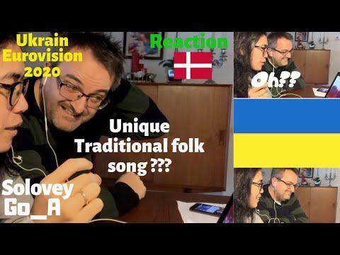 UKRAINE | EUROVISION 2020 | REACTION | DENMARK | Danish Reaction