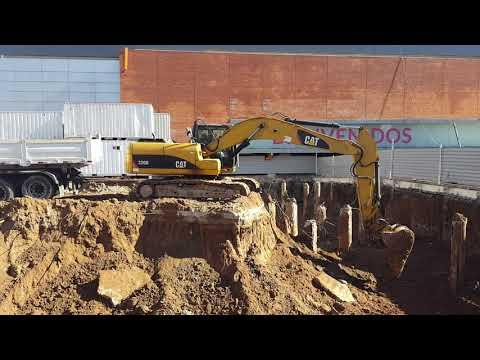 Pinsey SA.  Excavación Ampliación Terminal Tres Cruces - Montevideo- Uruguay