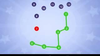 Соедини точки – развивающая игра для детей (пазл)