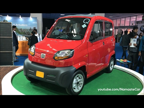 World's cheapest car - Bajaj Qute 2016   Made in India   Real-life review