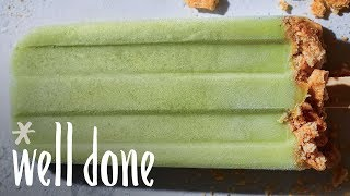 How to Make Creamy Key Lime Ice Pops | Recipe | Well Done
