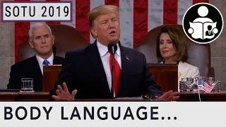 Body Language: State Of The Union SOTU 2019
