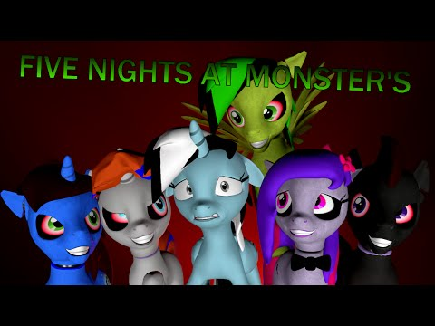Five Nights At Monster's - Official Music Video - [SFM]