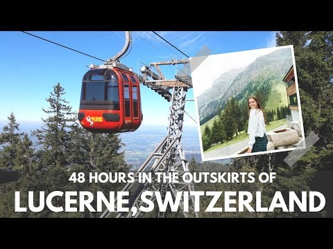 48 HOURS in the outskirts of LUCERNE, SWITZERLAND | Mt. Pilatus & Küssnacht!