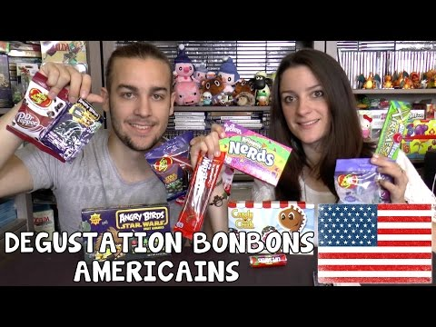 MY AMERICAN MARKET #2 BONBONS AMERICAINS DEGUSTATION : Star Wars, Candy Crush, Hello Kitty,...