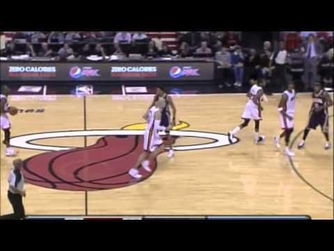 Indiana Pacers at Miami Heat 11.22.10 - Haslem Is Out, Wade's Effort In Doubt