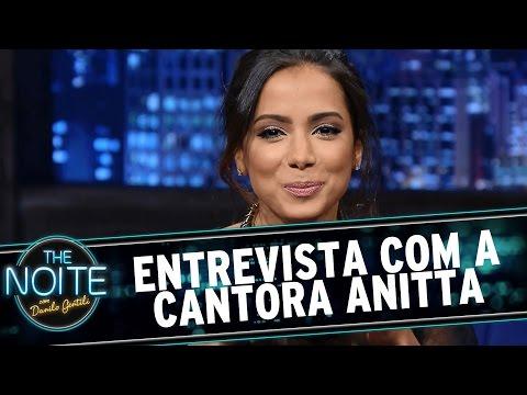 The Noite (24/02/16) - Entrevista Com Anitta