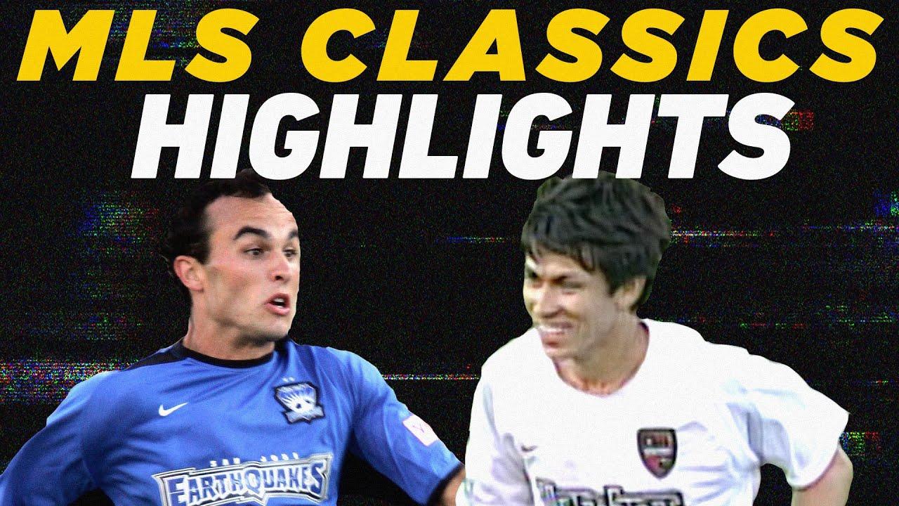 10 Goal Insanity! San Jose Earthquakes vs MetroStars | 2004 MLS Classics Highlights