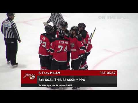 GOAL | Troy MILAM | 2017. 11. 22 | High1 vs Nippon Paper Cranes