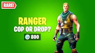 Fortnite RANGER Skin Worth it? EPIC Item Shop!