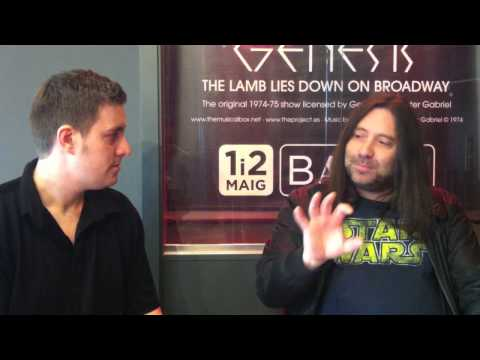 Interview with The Musical Box - The Lamb Lies Down On Broadway (Barcelona)
