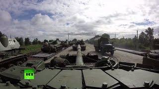 Военные возвращаются в пункты постоянной дислокации после учений «Восток-2018»