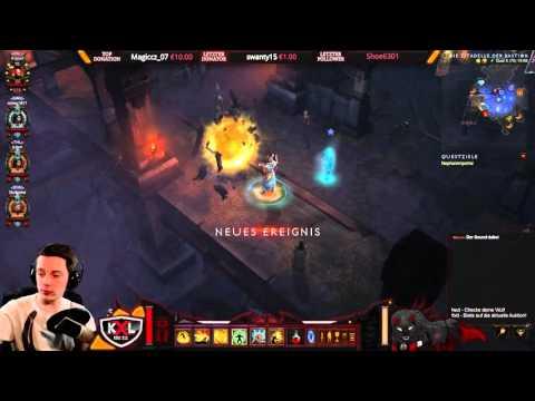 Diablo 3 RoS [Stream] - Na da Monk mich doch einer! ➥ Let's Play (Part 5)