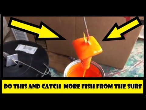 SURF FISHING SECRET! BRIGHT WEIGHTS!