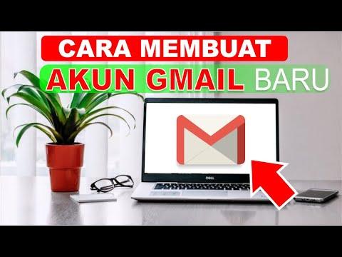 Cara Membuat Email Baru Dengan Akun Gmail Di Laptop Youtube