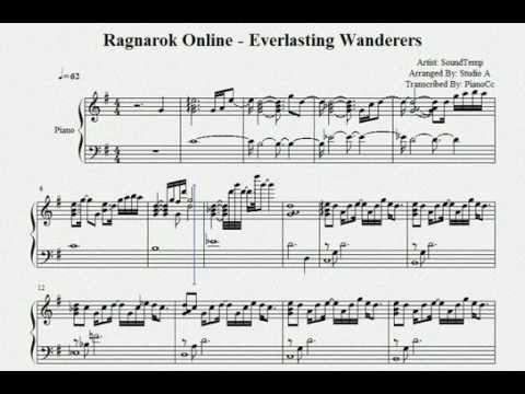 Ragnarok Online - Everlasting Wanderers Sheet(Arr. by Studio A')