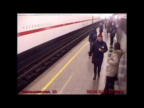Путь Акбаржона Джалилова в метро Санкт-Петербурга, 03.04.2017