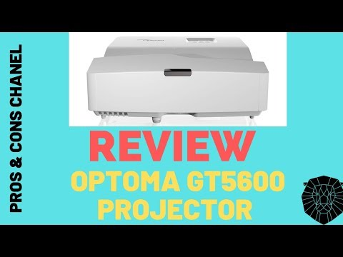 Optoma GT5600 Ultra Short Throw Gaming and Movie Projector  Review