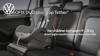 Secure your child with the Volkswagen Child Seats | Volkswagen