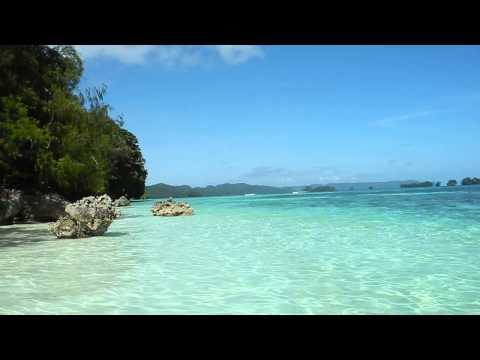 1月 PALAU ROCK ISLANDS THE SOUND OF THE WAVE
