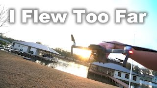 I FLEW TOO FAR - Mavic Pro Distance Flight
