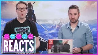 Nintendo Switch Unboxing - Kinda Funny Reacts