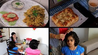 INDIAN AFTERNOON TO DINNER ROUTINE | Kids Study | Indian Evening Tea Time | Indian dinner Routine