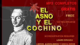 El asno y el cochino - Fábula de Samaniego - AlbaLearning Audiolibros Gratis