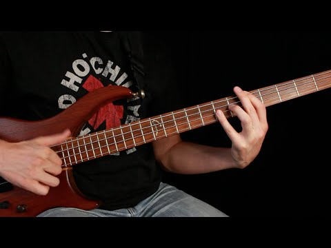 Red Hot Chili Peppers  Higher Ground Bass Tab and Tutorial