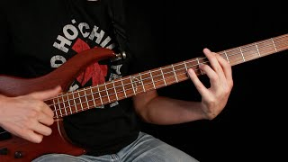 Red Hot Chili Peppers - Higher Ground (Bass Tab and Tutorial)